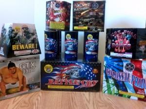 New June Fireworks